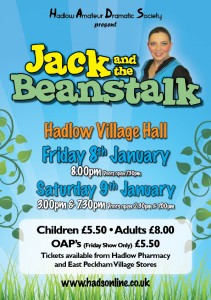 HADS Jack and the beanstalk Poster A4 PR