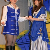 Katherine Apps (Robinson Crusoe) & Megan Moore (Polly Perkins)