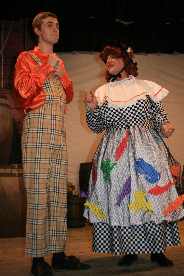 Andy Sunnucks (Billy Crusoe) & John Sansom (Clara Crusoe)