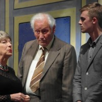 Liz Roberts (Janice Harding), Bill Hughes (Colin Jeffries) & Andy Sunnucks (Edward Green)