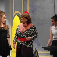 Beth Hayward (Libby Ray), Liz Adamson (Shirley Smith), Chloe Johns (Emma Howie)