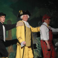 Bob Brown (Colonel Custard), Ben Johns (Gerry Custard) & Laurie Wood (Chorus)